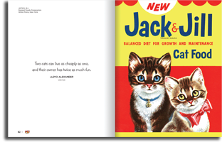 Cat Food for Thought - Jack & Jill